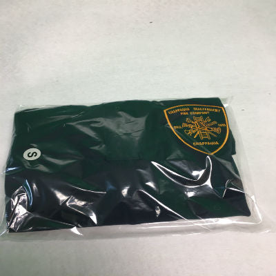 Custom Collared Green Fire Department Clothing