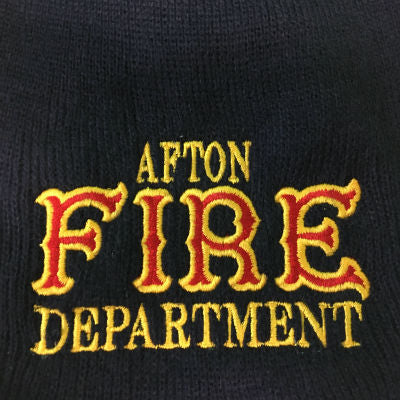 Fire Department Beanie Custom