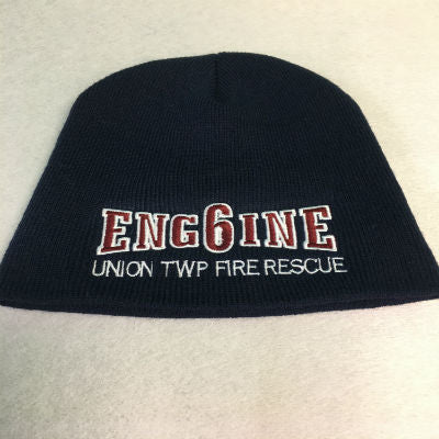 Fire Department Custom Engine 6 Beanie