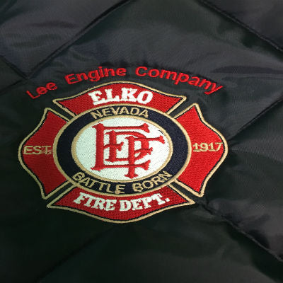 Custom Fire Department Clothing Custom Fire Department Jacket with Maltese Cross