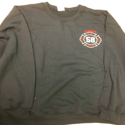 Custom Fire Department Clothing Custom Sweatshirt Custom Maltese Cross