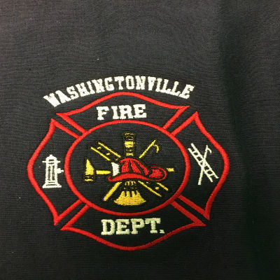 Custom Fire Department Clothing Custom Embroidery Custom Maltese Cross