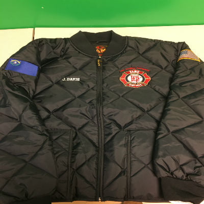 Custom Fire Department Clothing Custom Fire Department Jacket
