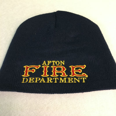 Fire Department Custom Beanie