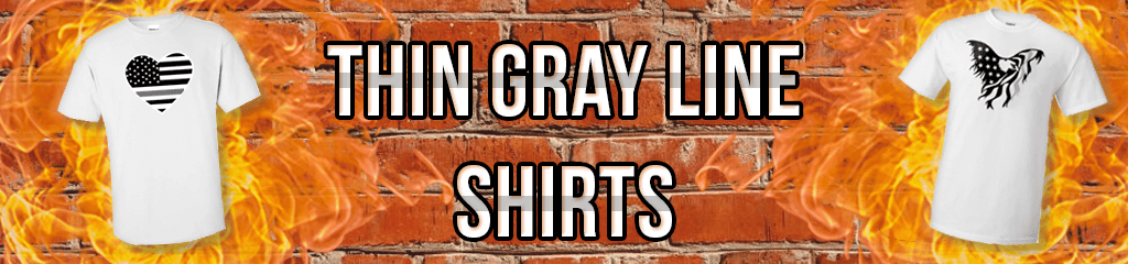 Thin Gray Line Shirts for Correctional Officers