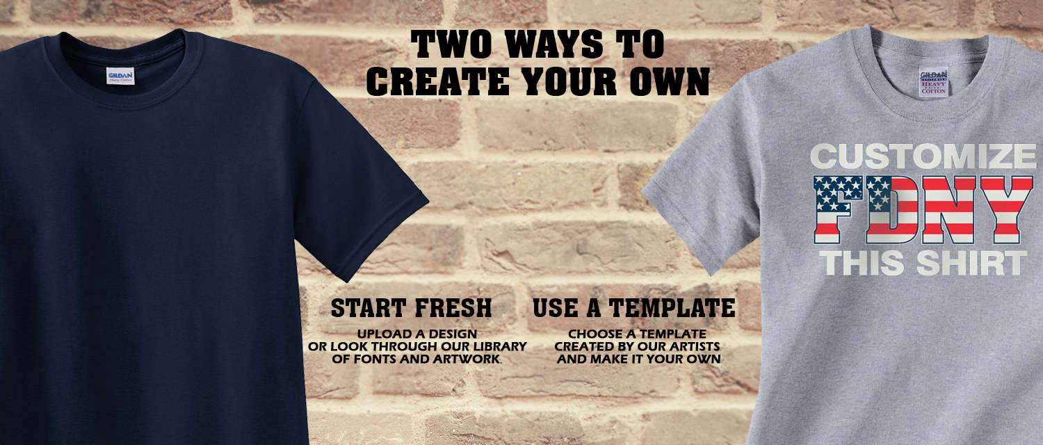 Design Custom Firefighter Shirts - Two Ways To Create Your Own