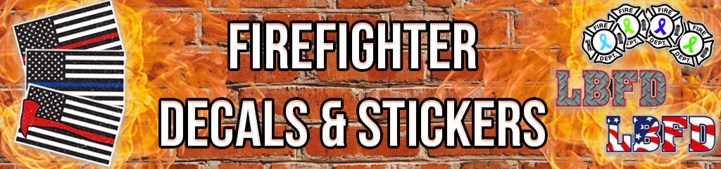Fire Department Decals & Stickers