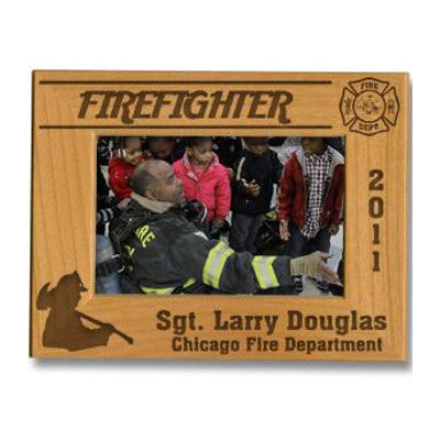 Custom Picture Frames for Firefighters