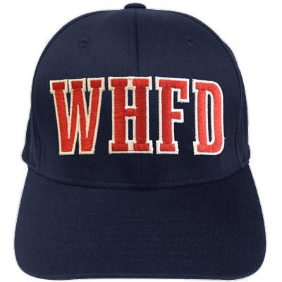 Fire Department Clothing Firefighter Custom Block Letter Hat Fireman Apparel and Caps