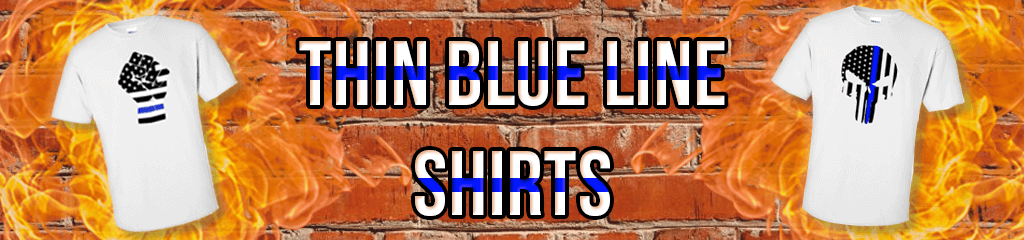 Thin Blue Line Police Shirts