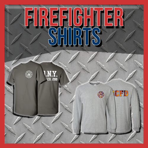 Firefighter Custom. Printed Shirts