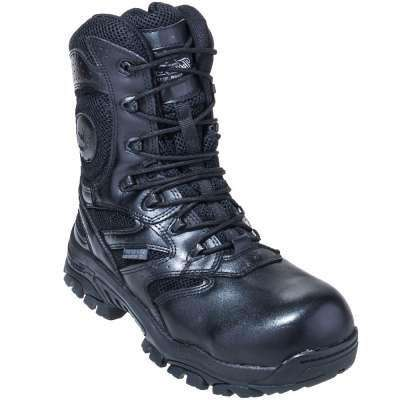 "Thorogood 8"" Waterproof Side Zip with Composite Safety Toe"