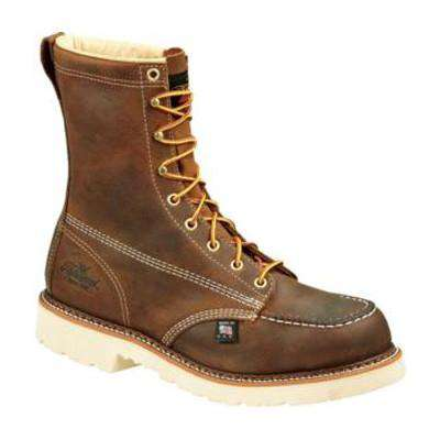 "Thorogood 8"" Moc Toe Boot with Safety Toe"