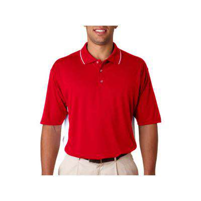 Polo Cool & Dry Sport Two Tone Polo - UltraClub - Style 8406Fire Department Clothing