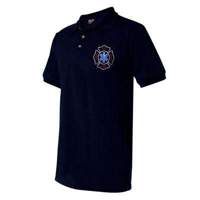 Custom Firefighter Cotton Polo Shirts