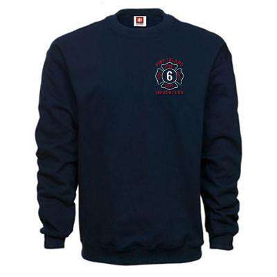 Crewneck Fleece - Bayside Made in the USA - Style 1102