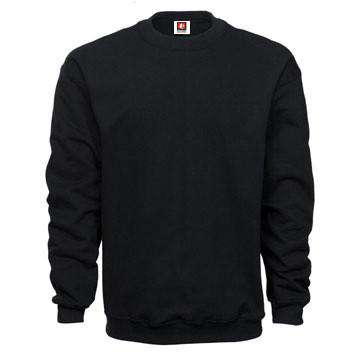 Sweatshirt Crewneck Fleece - Bayside Made in the USA - Style 1102Fire Department Clothing