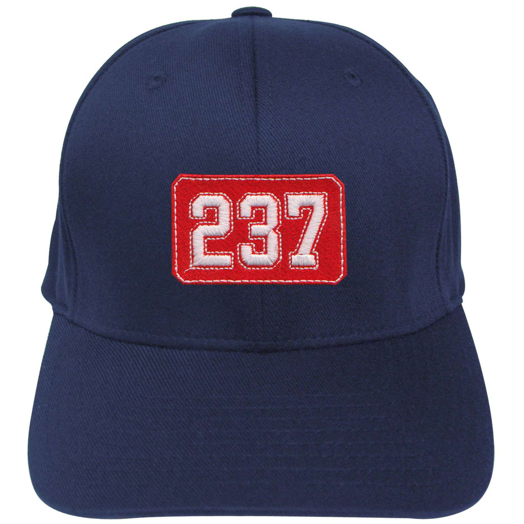 40006e731 Hat Fire Department Number Shield Flexfit Hat - EMB - Yupoong 6277Fire  Department Clothing