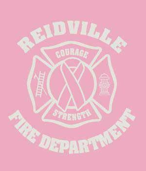 Screen Print Design Reidville Fire Department Awareness MalteseFire Department Clothing