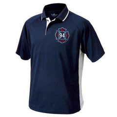Polo Color Blocked Wicking Polo - Charles River - Style 3810Fire Department Clothing