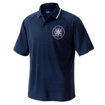 Polo Classic Wicking Polo - Charles River - Style 3811Fire Department Clothing