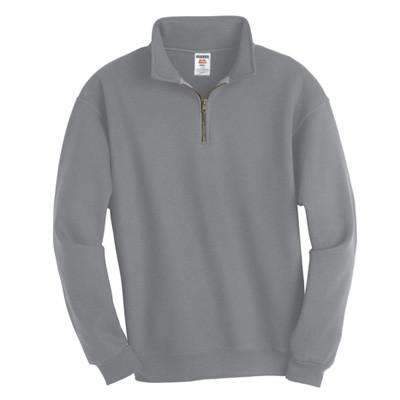 Super Sweats 1/4-Zip Pullover with Cadet Collar - Jerzees - Style 4528