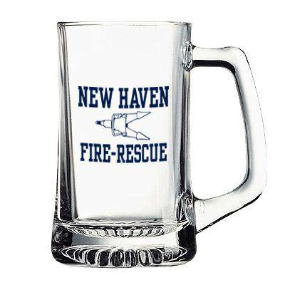 Fire Department Clothing Firefighter Glass Mugs, Cups, Shot Glasses