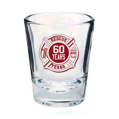 Glassware Firefighter Shot GlassFire Department Clothing