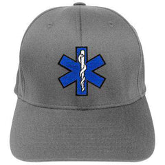 Hat Fire Department Adjustable EMS Velcro Hat - EMB - Port & Co. CP80Fire Department Clothing
