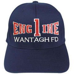 Hat Fire Department Adjustable Engine Company Velcro Hat - EMB - Port & Co. CP80Fire Department Clothing
