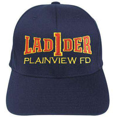 Hat Fire Department Ladder Flexfit Hat - EMB - Yupoong 6277Fire Department Clothing