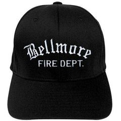 Hat Fire Department Old English Flexfit Hat - EMB - Yupoong 6277Fire Department Clothing