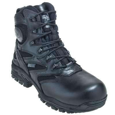 "Boots Thorogood 6"" Waterproof Side Zip with Composite Safety ToeFire Department Clothing"