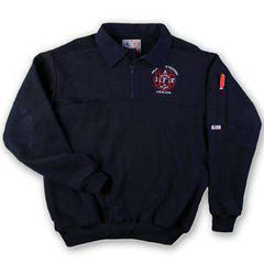 Job Shirt Canvas Collar Job Shirt Without Denim - Game Sportswear - Style 8070Fire Department Clothing