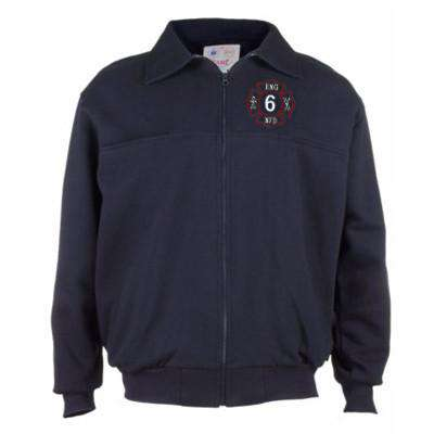 Firefighter Full-Zip Workshirt - Game Sportswear - Style 8075