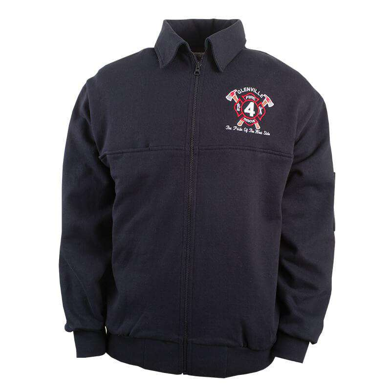The Firefighter's Full-Zip Work Shirt - Game Sportswear - Style 8075Fire Department Clothing