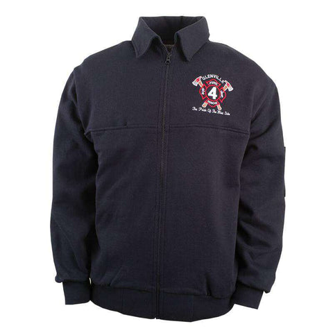 The Firefighter's Full-Zip Work Shirt - Game Sportswear - Style 8075