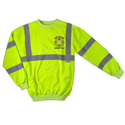 Sweatshirt Tradesman Long Sleeve Sweatshirt - Game Sportswear - Style 8110Fire Department Clothing