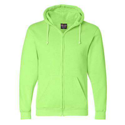 Sweatshirt Hooded Full-Zipper Fleece - Bayside Made in the USA - Style 900Fire Department Clothing