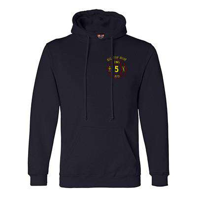 Hooded Fleece - Bayside Made in the USA - Style B960
