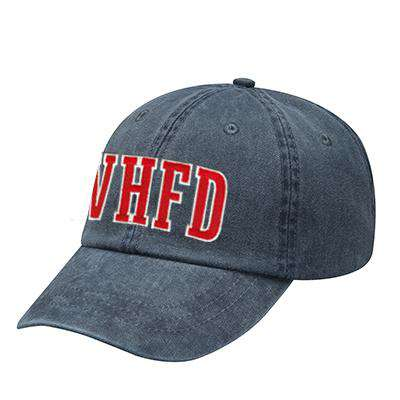 Off-Duty Fire Department Block Style Pigment Dyed Cap - Adams - AD969