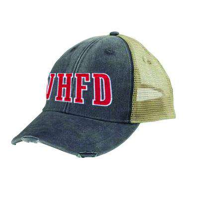 Off-Duty Fire Department Block Letter Ollie Cap - Adams OL102 - EMB