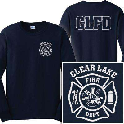 Fire Department Clothing Long Sleeve Shirts for Workwear with Custom Maltese or EMS Cross