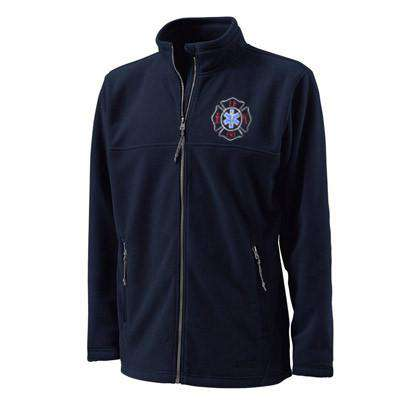 Custom Embroidered Firefighter & EMS Fleece Jackets