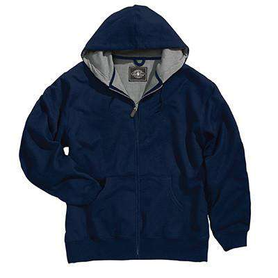 Sweatshirt Full-Zip Thermal Sweatshirt [Tall Sizes] - Charles River - Style 9542Fire Department Clothing