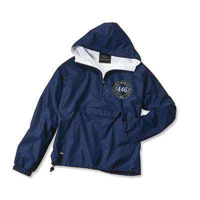 Jacket Classic Solid Pullover - Charles River - Style 9905Fire Department Clothing