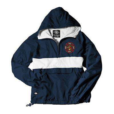 Jacket Classic CRS Pullover - Charles River - Style 9908Fire Department Clothing