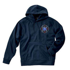 Sweatshirt Performance Polyknit Sweatshirt - Charles River - Style 9987Fire Department Clothing