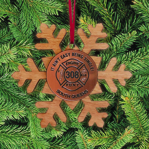 Custom Snowflake Ornament - LZR