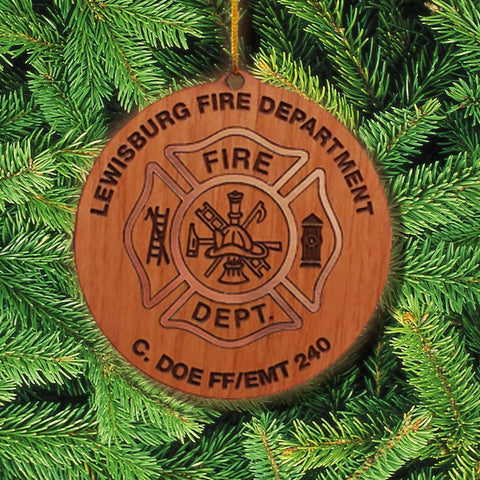 Customization Custom Maltese Ornament - LZRFire Department Clothing